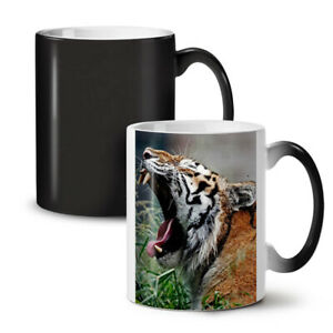 Tiger Photo Animal NEW Colour Changing Tea Coffee Mug 11 oz   Wellcoda