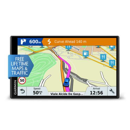 """Garmin drivesmart 61 lmt-d UE Navi 6,95/"""" vida actualizaciones de mapas UE TMC negro"""