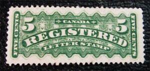 nystamps-Canada-Letter-Stamp-F2-Mint-OG-H-150
