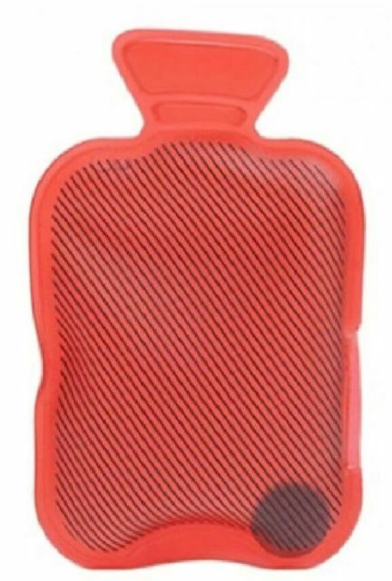 2 x NEW REUSABLE GEL WINTER COLD HAND WARMERS HOT WATER BOTTLE DESIGN IN RED