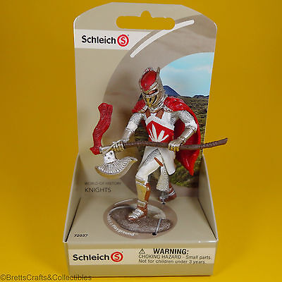 World of History Knights Blue Dragon Knight with Battle Axe 72030 Schleich