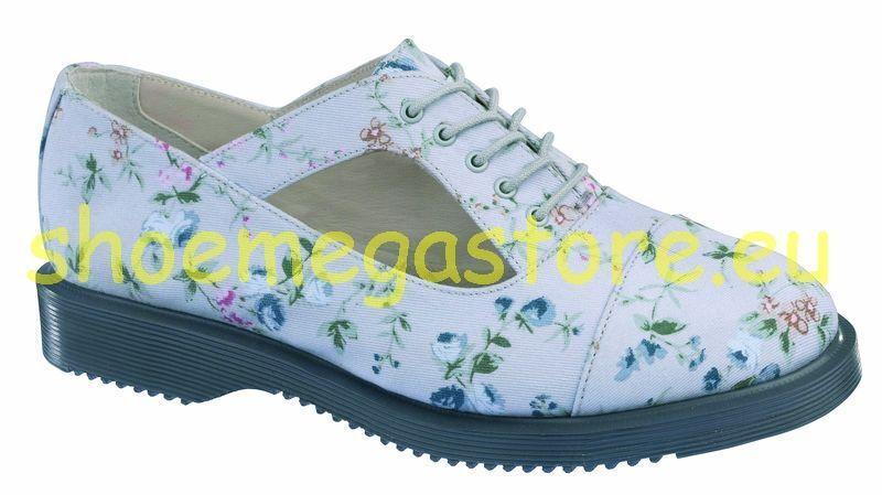 Los últimos zapatos de descuento para hombres y mujeres Descuento por tiempo limitado Dr Martens 5 Loch Carrie Grey 14301020 Original Doc