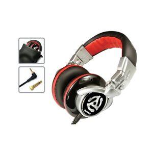 cuffia-NUMARK-RED-WAVE-headphones-per-DJ-iPod-iPhone-mp3-laptop-iPad-no-wesc-NE