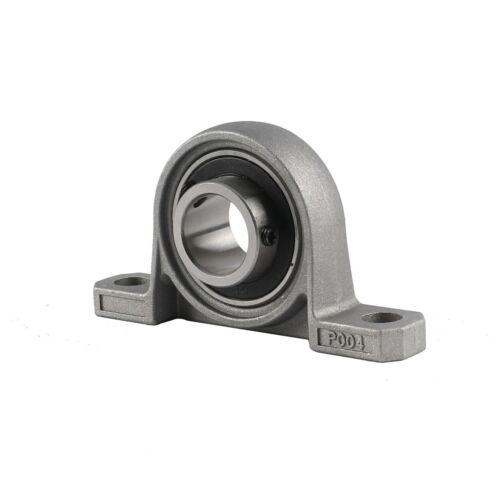 2Pack 20mm Bore Ball Bearing Pillow Block Bearing Go Kart Axle Bearing /& Carrier