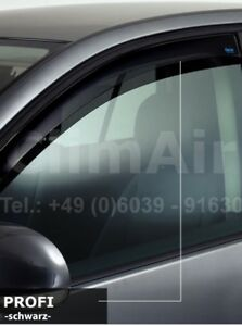 Windabweiser f/ür Nissan QASHQAI 5-T/ürer vorne + hinten 4 St/ück