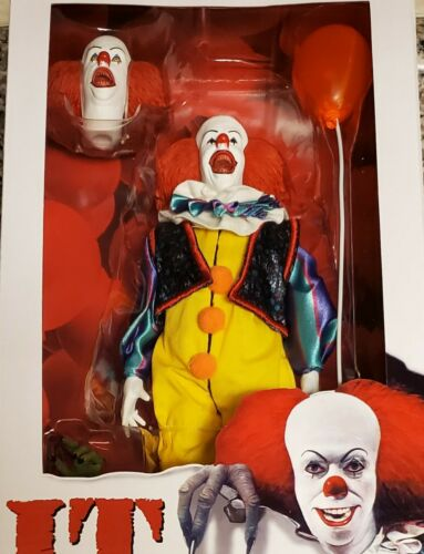 """1990 NECA Pennywise 8/"""" Clothed Figure BRAND NEW il"""