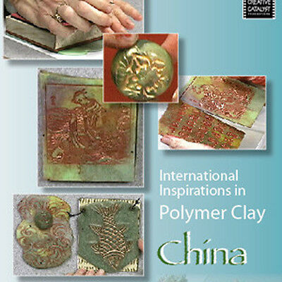 NEW DVD: INTERNATIONAL INSPIRATIONS IN POLYMER CLAY CHINA Fimo Jewelry Design