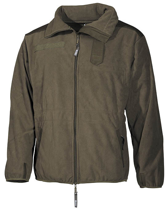 BW Fleece Jacke Alpin Kälteschutzjacke Bundeswehr Fleecejacke Jacket oliv Medium