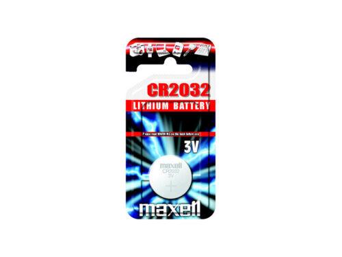 Maxell® CR 2032 Lithium Mikrobatterien