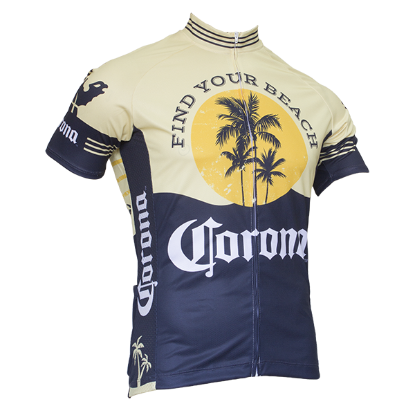 CORONA VINTAGE Herren SHORT SLEEVE CYCLING JERSEY JERSEY JERSEY - by Retro Image Apparel 5be50c