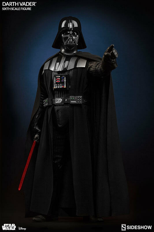 STAR WARS RETURN of the JEDI - DARTH VADER DELUXE 1 6 Action Figure 12  SIDESHOW