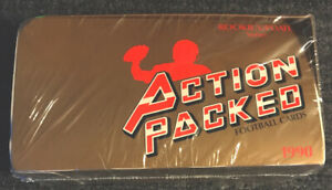 1990-Action-Packed-Football-Rookie-Update-Series-36-Count-Factory-Sealed-Wax-Box
