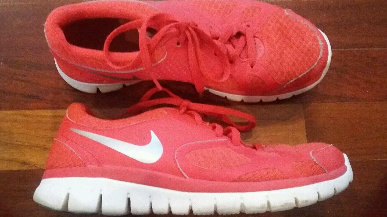 Nike Women's Hot Pink Flex Running Tennis Shoes 7.5M Casual wild