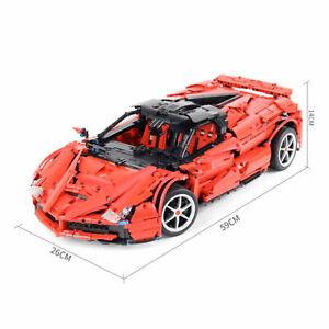 La Ferrari Rosso Auto 1 9 Per Lego Compatibile Technic Ebay