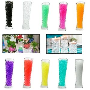300pcs-WATER-AQUA-SOIL-CRYSTAL-BIO-GEL-BALL-BEADS-WEDDING-VASE-FILLER-CENTERPIEC