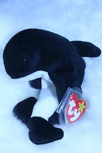 Ty Beanie Baby Waves 1996