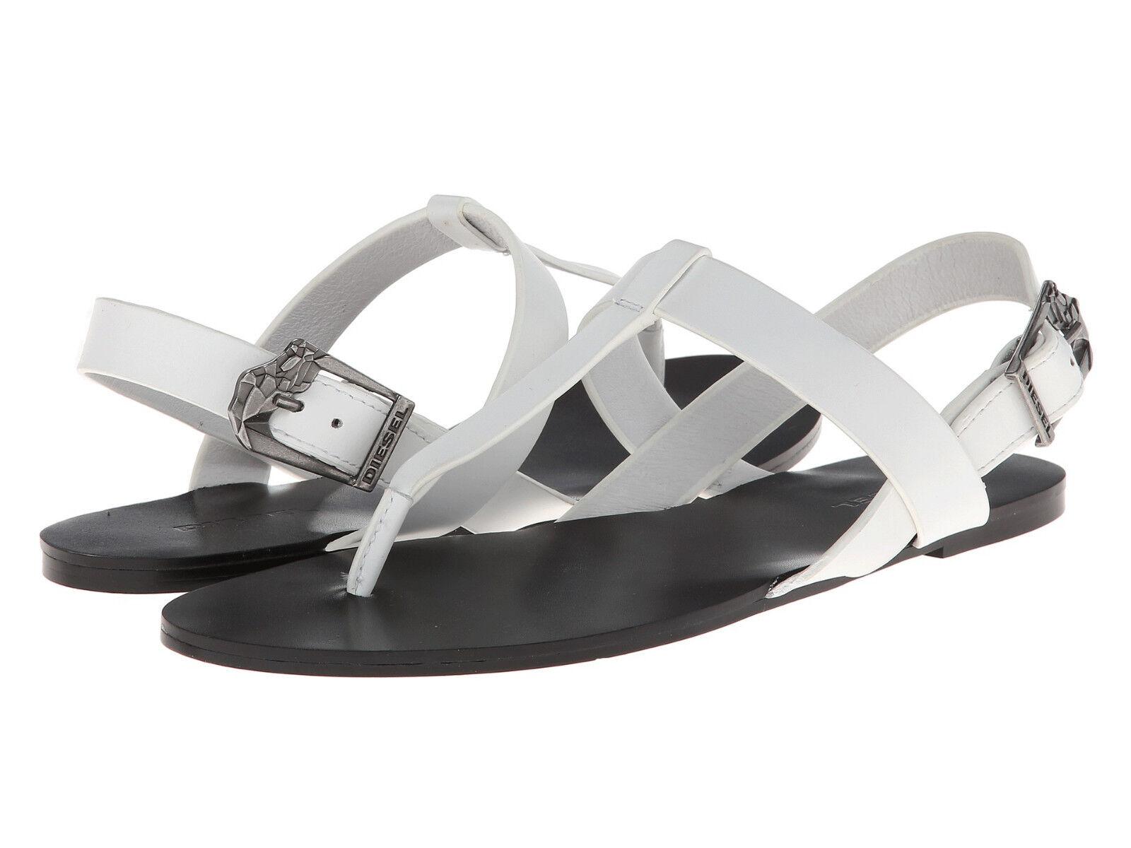 PVP    102 Nuevo Zapatos de Mujer Diesel walayla Himalie W blancoo Sandalias  exclusivo
