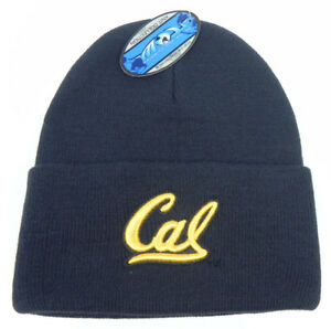 purchase cheap f9527 eb157 Image is loading CAL-BERKELEY-GOLDEN-BEARS-NCAA-BEANIE-TOP-OF-