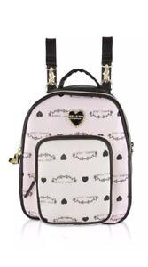 Betsey Johnson Mini Convertible Backpack Crossbody Bag Purse Handbag BB17130