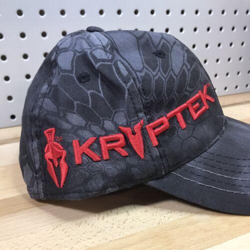 Kryptek Typhon Camo Red Spartan Helmet /& Logo Ball Cap//Hat Snap Closure OC OSFA