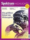 Die größten Rätsel der Philosophie (2015, Blätter)