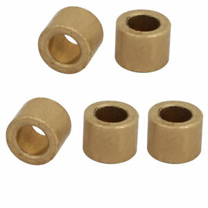 6mm-x-10mm-x-8mm-Self-lubricating-Bushing-Sleeve-Brass-Bearings-5PCS
