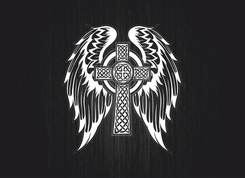 Sticker decal car vinyl jdm bomb tuning celtic cross ireland flag irish aka11