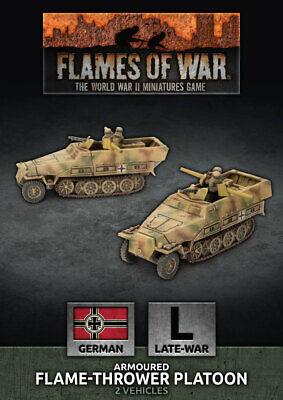 Flames of War Entièrement neuf dans sa boîte SD KFZ 251 Transports-fin de guerre GBX152