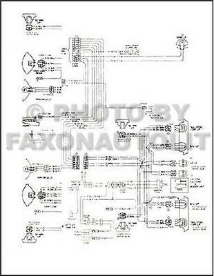 1974 chevy ck truck wiring diagram pickup suburban blazer chevrolet electrical ebay 66 chevy c10 wiring-diagram 74 chevy truck wiring diagram #2