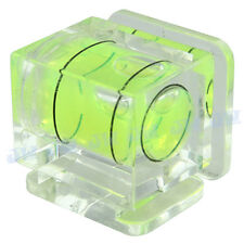 Single 1 Axis Bubble Spirit Level on Camera Hot Shoe Gradienter For DSLR SLR