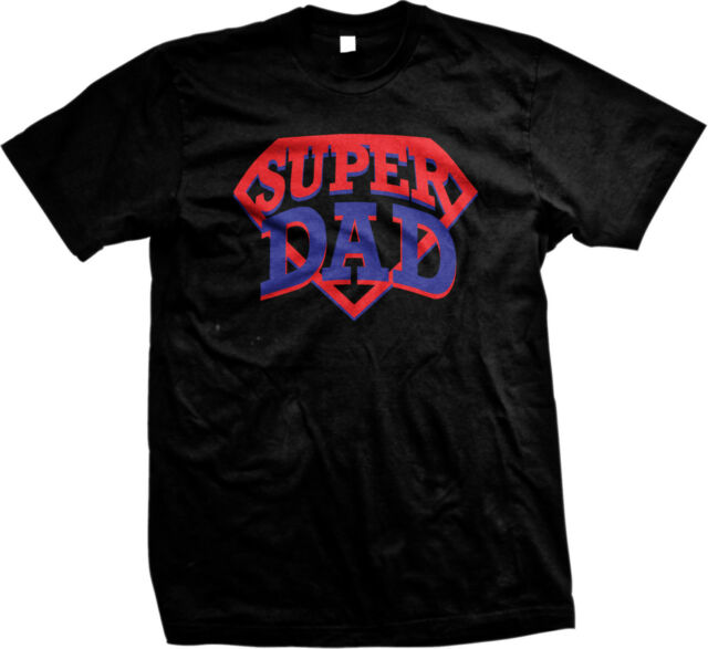 Super Dad Diamond Parody Fathers Day Daddy Funny Humor Present Gift Mens T-shirt