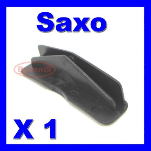 CITROEN SAXO fenêtre guide plastique clip porte verre bord Diapositive Runner