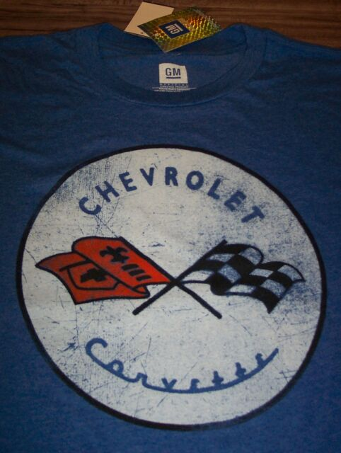 Vintage C1 Corvette Logo Printed on Men/'s T-Shirt Free Shipping