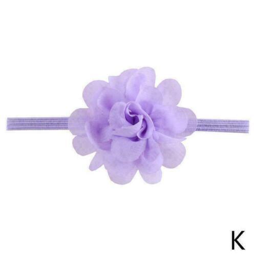 1 Pcs Chiffon Blume Haar Band Stirnband Elastische für Baby Infant Q4F6 Set K3D2