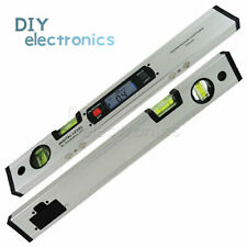 360 Digital Inclinometer Aluminum Angle Finder Magnetic Tool With Spirit Level Us