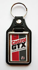 CASTROL GTX FAUX LEATHER KEY RING.