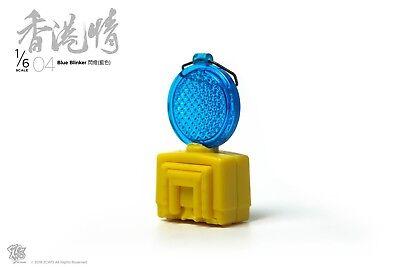 1//6th Scale ZCWO Hongkong Street scene NO.04 Blue Blinker