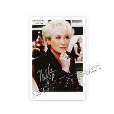 Meryl Streep - Actress | Producer -  Autogrammfotokarte laminiert [A2] 