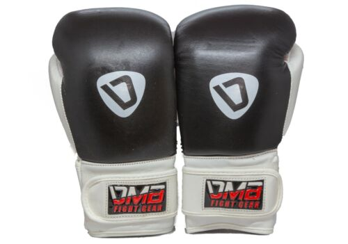 DMB G2 Genuine Cowhide Leather Boxing Gloves Kickboxing Sparring Punching Gloves