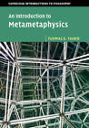 An Introduction to Metametaphysics by Tuomas E. Tahko (Paperback, 2015)