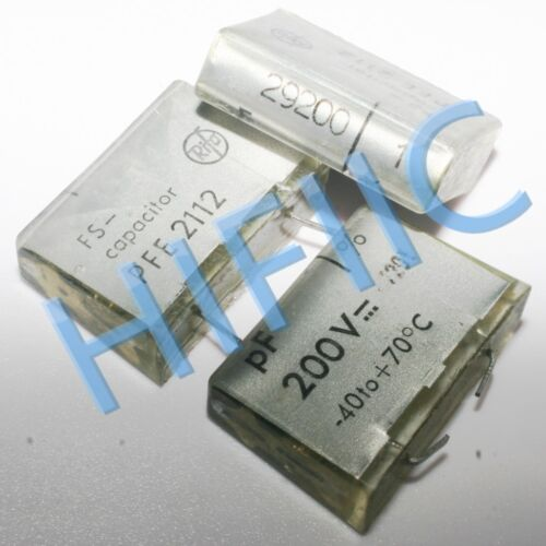2PCS RIFA 29200PF 200V 0.0292UF 293 Transparent film capacitor