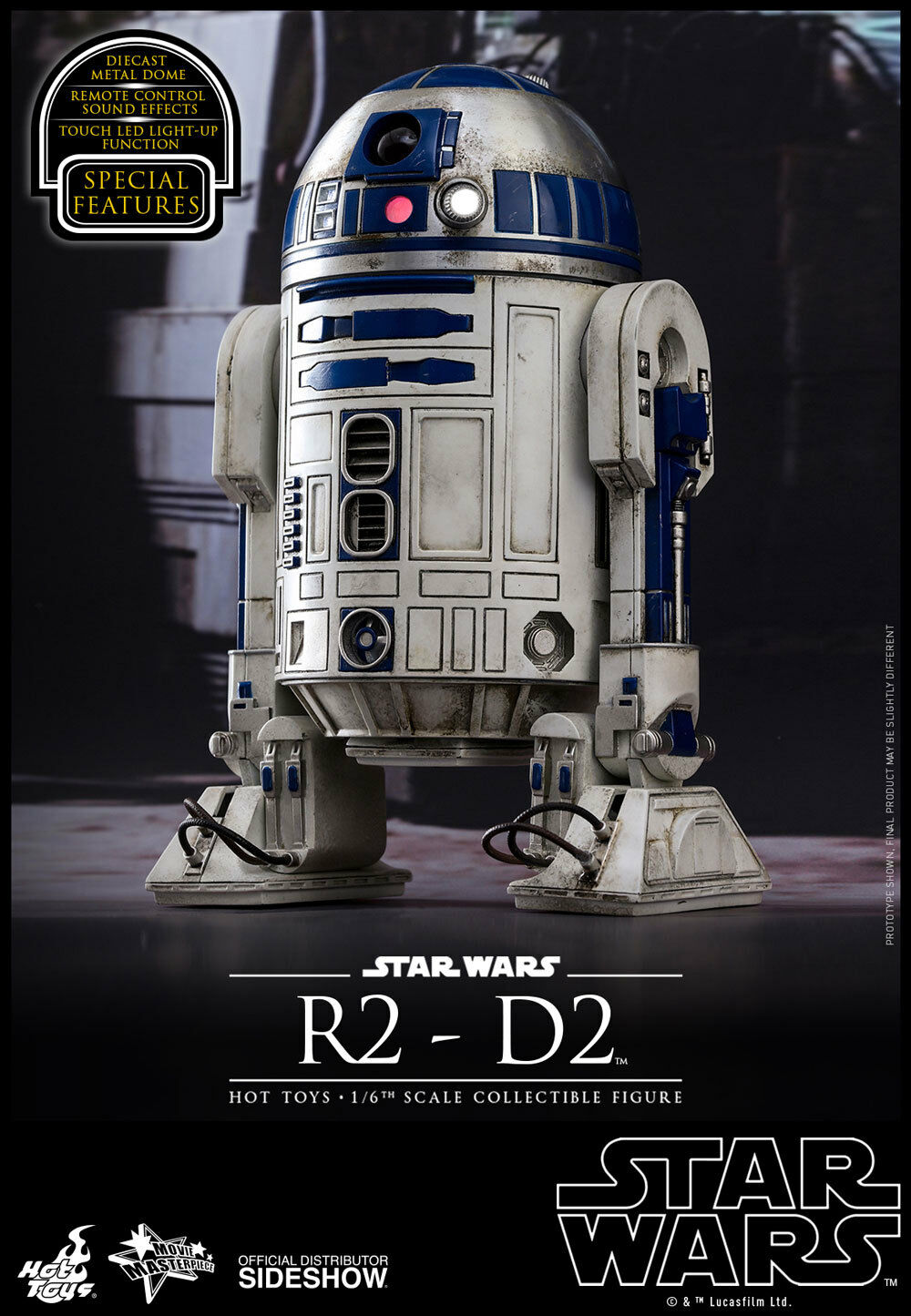 "HOT TOYS – STAR WARS Episode VII ""The Force Awakens"" – R2-D2"