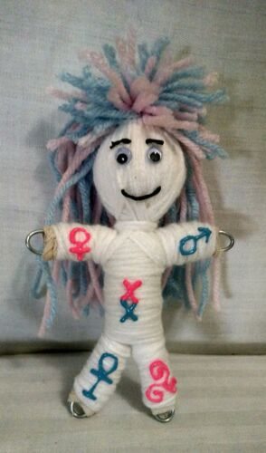 Fertility Poppet Pregnancy Doll Intention/Spell herb infused Wicca Karma Keepers