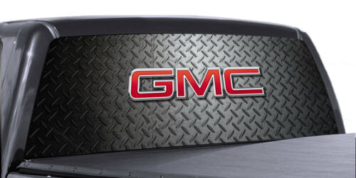 -GMC Diamond Plate VuScapes Truck Rear Window Graphic 4 SIZES AVIAL