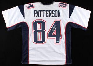 Details about Cordarrelle Patterson Signed Patriots Jersey (Beckett COA)Super Bowl LIII Champ