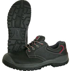 Sicherheitshalbschuh, Safety Shoes Rindleder S 3 36 - 48 mit Überkappe