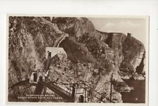 Suspension Bridge South Stack Holyhead Vintage RP Postcard 060b