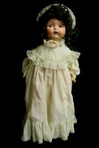 Antique-Cloth-Composite-30in-Doll-Creepy-Haunted-Goth-Halloween-Horror-Prairie