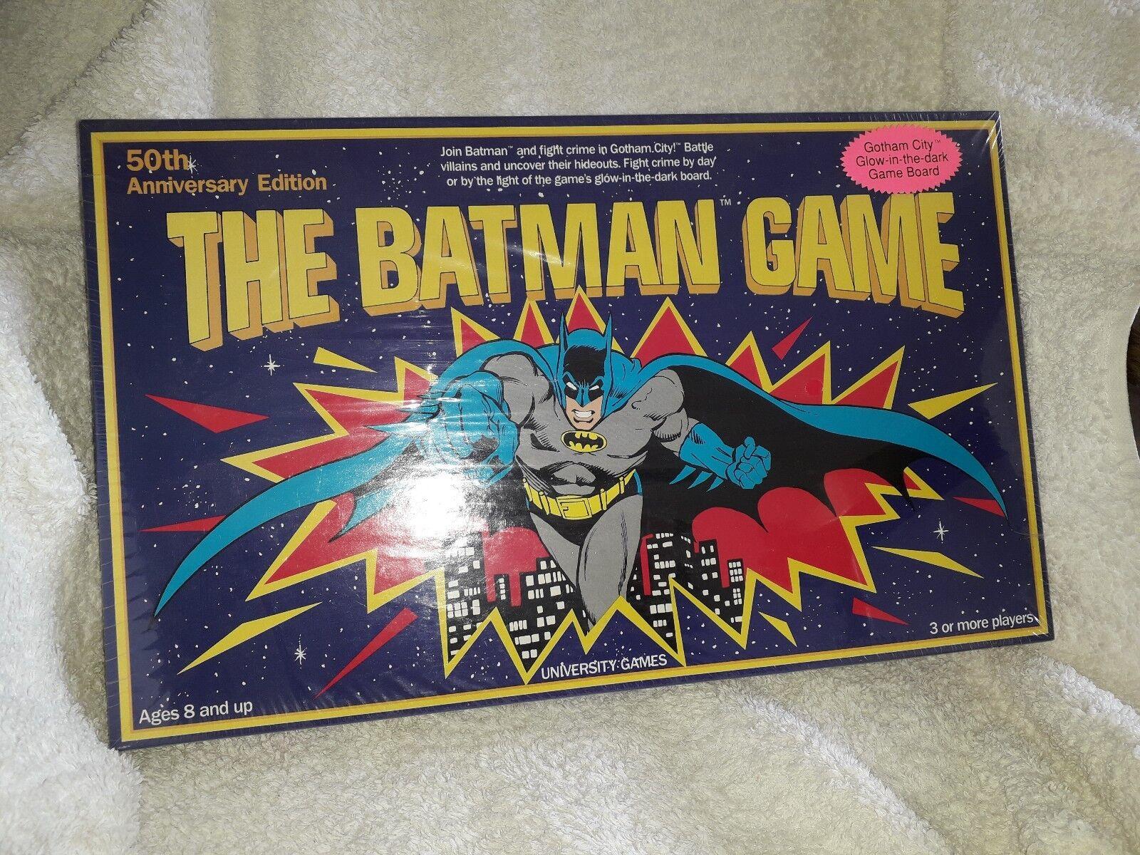 Der batman - brettspiel 50. jahrestag ed 1989 mint gotham city leuchten im dunkeln