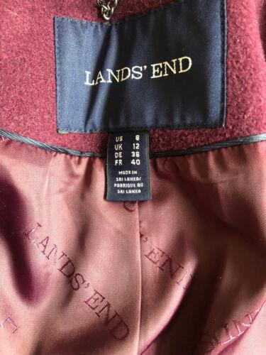 12 Size Plum Lands' Coat End nPItxX